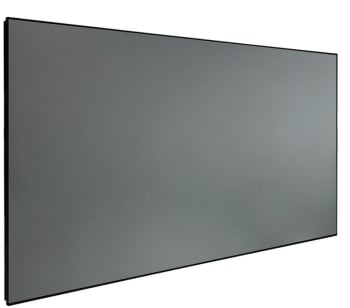 "DMINTERACT 170"" Thin Frame Black Crystal ALR Projector Screen"