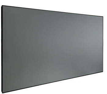 "DMINTERACT 150"" Thin Frame Black Crystal ALR Projector Screen"
