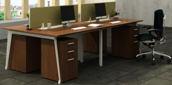 Office Centre ALX-WS4-1207-F9 Workstation