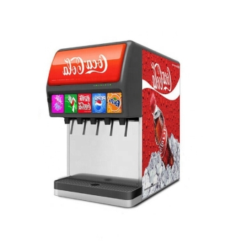 DM ASL-CM-500 5 Flavors Beverage Fountain Soda Cola Machine