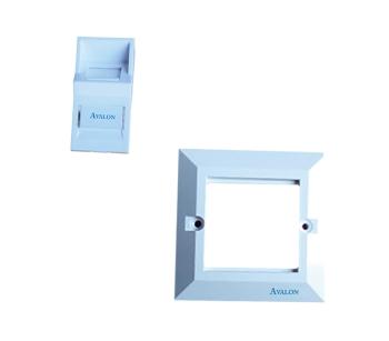 Avalon Angular Face Plate & Frame