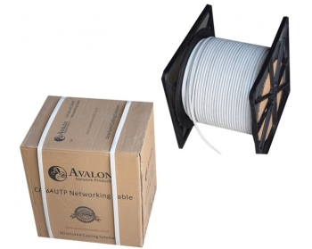 Avalon Cat6 UTP Cable Roll 305m - Grey