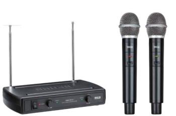 Ahuja AWM495V2 Dual Channel VHF Wireless Microphone System
