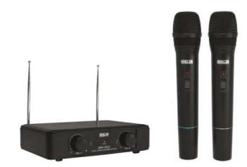 Ahuja AWM520V2 Wireless Dual Channel UHF Microphone