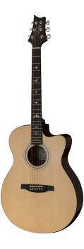 PRS SE Angelus AX20E Acoustic-Electric Guitar in Natural finish