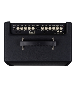 "Blackstar BA153010 Sonnet 60 -1 x 6.5""-1 x 1"" 60 Watt Black Acoustic Guitar Combo Amplifier"