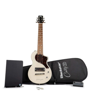 Blackstar BA184050 Carry-on Travel Guitar Pack in Vintage White With Amplug