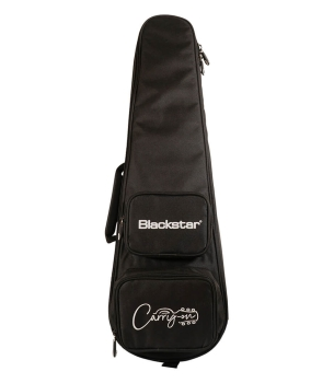 Blackstar BA184080 Carry-on Deluxe Travel Guitar Pack In Jet Black With Fly3 BT