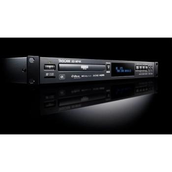 Tascam BD-MP4K 4K UHD Network Blu-ray Disc Player
