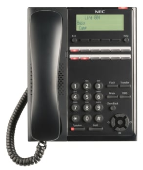 NEC SL2100 IP7WW-12TXH-A 112 Keys Digital MLT Phone