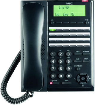 NEC SL2100 IP7WW-24TXH-A1 24 Keys Digital MLT Phone Black