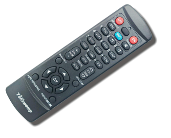 BenQ MX666 TeKswamp Video Projector Remote