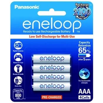 Panasonic BK-4MCCE-4BT Eneloop AAA Rechargeable Batteries
