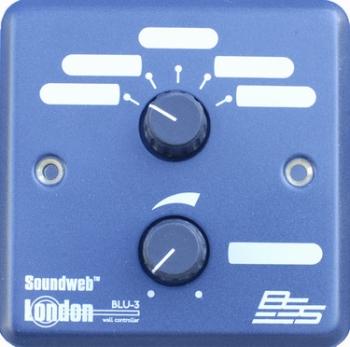 BSS Soundweb London BLU-3 Wall-Mount Controller
