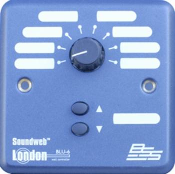 BSS Soundweb London BLU-6 Wall-Mount Controller