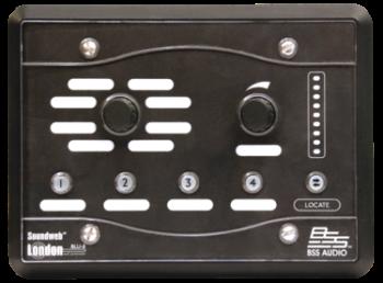 BSS Soundweb London BLU-8v2BLK Programmable Zone Controller