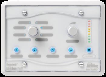 BSS Soundweb London BLU-8-V2-WHT Programmable Zone Controller
