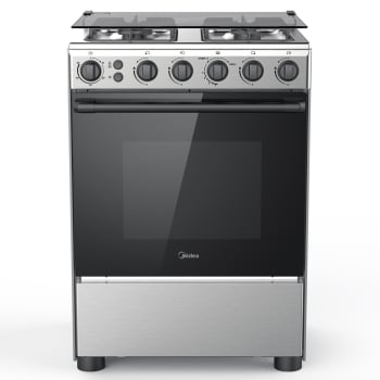 Midea 60 x 60 cm Gas Cooker with Full Safety