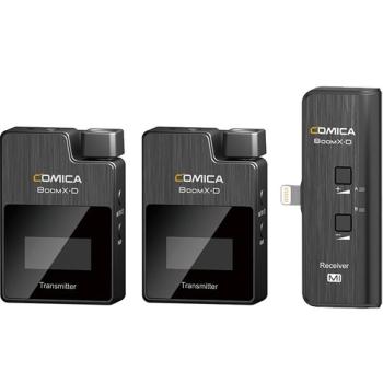 Comica Audio BoomX-D MI2 Ultracompact Digital Wireless Microphone System