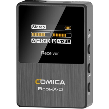 Comica Audio BoomX-D RX Dual-Channel Digital Wireless Receiver