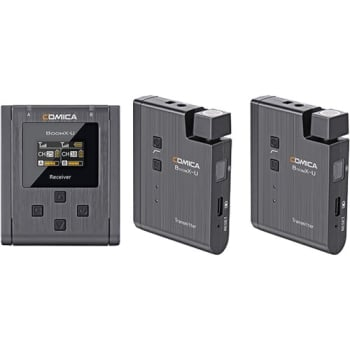 Comica Audio BoomX-U U2 Compact Wireless Microphone System