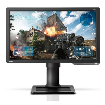 "BenQ BQ-XL2411P 24"" Equalizer & Color Vibrance For Competitive Edge Gaming Monitor"