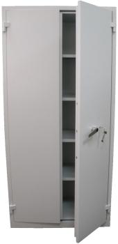 Valberg Brand Mauer-1951 Fire Proof 4 Shelf Cabinet Key Lock Safe