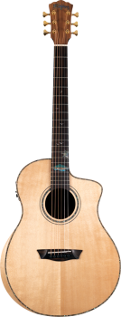 Washburn Bella Tono Allure SC56S 6-string Acoustic-electric Guitar