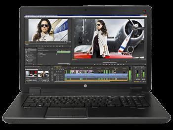 """HP ZBook 17 G2 Mobile Workstation (J8Z69EA) 17.3"""" (Core i7, 256GB + 512GB, 16GB, Win 7 Pro)"""