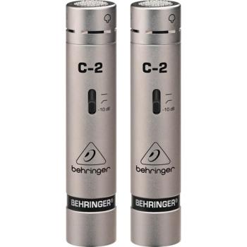 Behringer C-2 Matched Studio Condenser Microphone