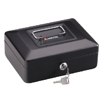 SentrySafe CB-8 Small Key Lock Cash Box