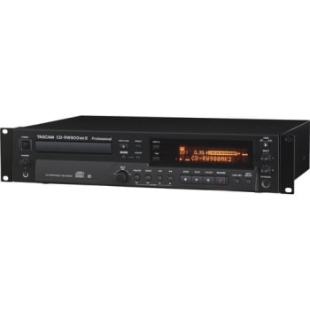Tascam CD-RW900MKII Professional CD Recorder