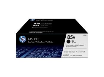 HP 85A 2-pack Black Original LaserJet Toner Cartridges