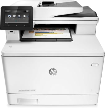 HP M477fdw Color Laser Jet Pro Multi Function Printer