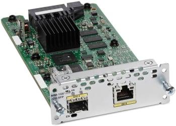 Cisco NIM-2GE-CU-SFP 2-Port Gigabit Ethernet WAN NIM Module