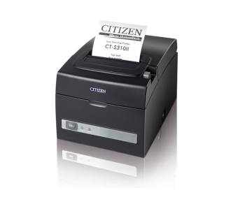 Citizen CT-S310-II Direct Thermal Receipt Printer, 203 dpi - Black