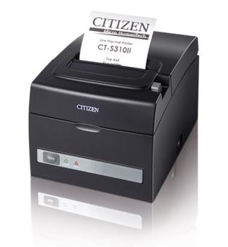 Citizen CT-S310II 203 dpi Receipt Printer USB, 8 Dots/mm, Black