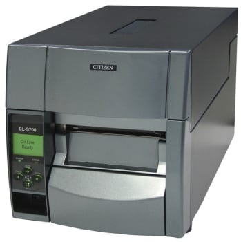 Citizen CL-S700 203 DPI Resolution Series Label and Barcode Printer, Black