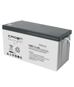 Crown Micro CMBT-12-200 High reliability Lead-acid Battery