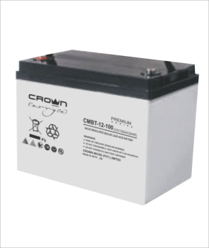 Crown Micro CMBT-12V-12 Ah Valve Regulated Lead Acid Battery