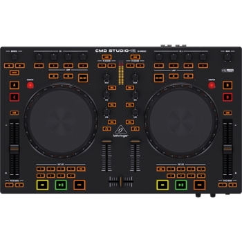 Behringer CMDSTUDIO4A DJ MIDI Controller with 4-Channel Audio Interface