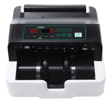 Kolibri Money Counter High Contrast LED Display with UV Detection