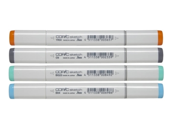 Copic Sketch YR04 Chrome Orange Marker