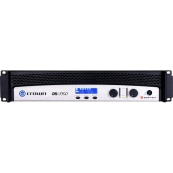 Crown DSi1000 Two-Channel 500W With BLU Link Amplifier