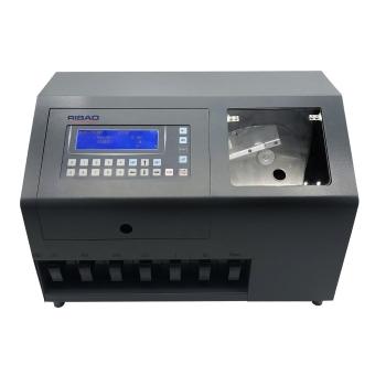 Ribao Cs610s+ Pro Ultra Heavy Duty Mixed Coin Counter And Sorter