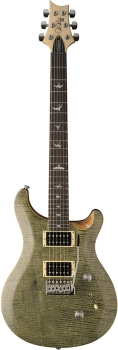 PRS SE Custom 24 Electric Guitar in Trampas Green finish