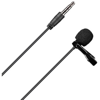 Comica Audio CVM-V01SP Omnidirectional 3.5mm TRRS Lavalier Microphone - 2.5m Cable