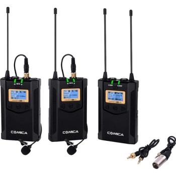 Comica Audio CVM-WM100 PLUS A Wireless Microphone System