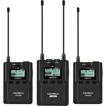 Comica Audio CVM-WM200A Wireless Omni Lavalier Microphone System