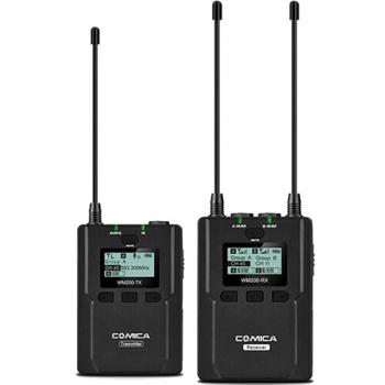 Comica Audio CVM-WM200C Wireless Omni Lavalier Microphone System